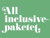 All inclusive-paketet.