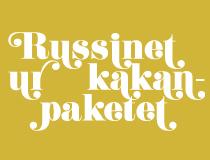 Russinet ur kakan-paketet.